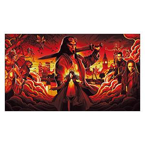 Hellboy. Размер: 35 х 20 см